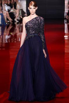 Elie Saab Fall 2013 Couture Fashion Show - Irina Nikolaeva (OUI)