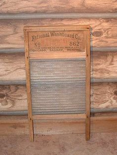 antique washboard for my home