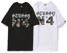 d3cecbb0ed6 mastermind JAPAN x Stussy 2013 Spring/Summer Camo T-Shirt: Coinciding with  parts one and two of their collaborative Spring/Summer 2013 collection, ...