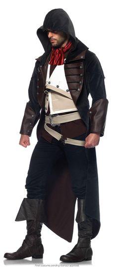 Assassins Creed Unity Arno Adult Costume From Costumeexpress Com Mannertracht Kostume Fur Erwachsene