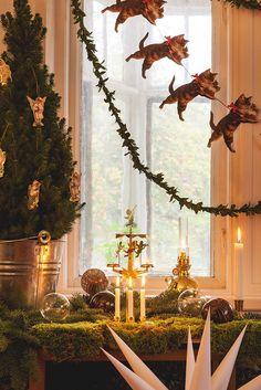 En stillsam jul - Inspiration: Byggfabriken – modern byggnadsvård
