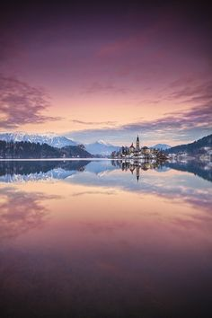 Lake Bled, Slovenia, by Roberto Pavic, on 500px.