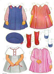 Sally the City Girl Doll Book, 1963 Lowe #1854 (3 of 8) |   bonecas de papel, paper doll, muñecas de papel