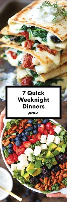 Make them for a dinner party or live off the leftovers for the next three days. #easy #dinner #recipes http://greatist.com/eat/easy-dinner-recipes-to-make-this-week