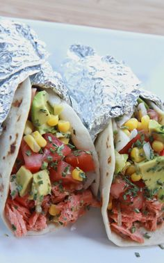 Amazing Salmon Tacos Recipe (Citrus Brown Butter) | Divas Can Cook