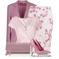 A fashion look from April 2014 featuring Gucci blazers, N°21 skirts and Casadei pumps. Browse and shop related looks.