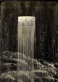 Pat Steir  San Francisco Waterfall I, 1991