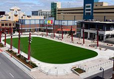 Mb Financial Park In Rosemont A Present Day Pottersville Convenient And