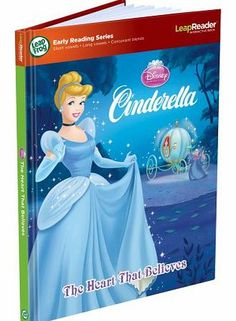 LeapFrog LeapReader Early Reader Book: Disney Cinderella The Heart That Believes (Works with Tag) No description (Barcode EAN = 0708431203297). http://www.comparestoreprices.co.uk/educational-toys/leapfrog-leapreader-early-reader-book-disney-cinderella-the-heart-that-believes-works-with-tag-.asp