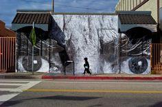 Jr faces of Los Angeles #streetart