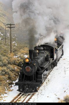 RailPictures.Net Photo: NNRy 40 Nevada Northern Railway Steam 4-6-0 at Ely, Nevada by Hunter Lohse