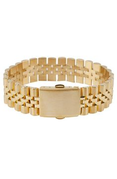 Mister  Band Bracelet - Gold