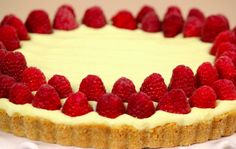 A Summer Dessert: No-Bake Lemon Mascarpone Tart