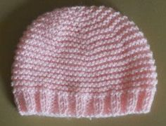 Here are my explanations that I fiddled to make a cap for premature weeks (max head circumference 30 cm) with a needle wool 4 (Rico baby classic type) jersey sample: 28 rgs fit 66 meshes. Knitting Yarn, Baby Knitting, Crochet Baby, Knit Crochet, Crochet Rug Patterns, Knitting Patterns, Knitted Blankets, Knitted Hats, Baby Bonnets