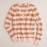Dream V-neck sweater in stripe    $59.99