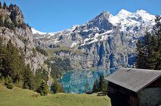Oeschinensee, Schweiz