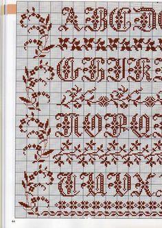 Alphabet sampler 1: