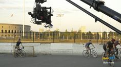 RBC's Dylan Law, Alexander Enman and Kevin Bueschen, with help from intern, Asa Reed, shot this Boston Bike Polo match with the ARRI Alexa Mini, Optimo 28-76 Zoom from Angenieux Lenses on the Freefly Systems MoVI M15 using the new WCU-4 wireless remote system to control camera and lens functions. All gear available to rent. Contact Rentals at answers@rule.com or 800-rule-com.