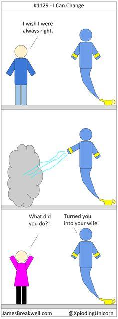 I Can Change ~ James Breakwell's Unbelievably Bad Webcomic
