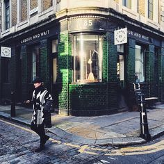 ***Labour and Wait, 85 Redchurch St, E2 7DJ*** Photo by @rhymeswithcoffee from Instagram ***  Where to take an interesting photo of London >>>> http://london.okbutfirstcoffee.com
