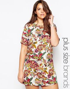 Perfect for Spring and Summer, throw some tights and a cardi on for Fall and Winter. Boom.  Alice & You Floral Print Shift Dress