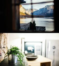 In the centre of the UNESCO World Heritage site Hallstatt lies the Hallstatt Hideaway with breathtaking views of Lake Hallstatt Vacation Ideas, Fascinator, The Good Place, Modern Design, In This Moment, Traditional, Holidays, Luxury, Parents