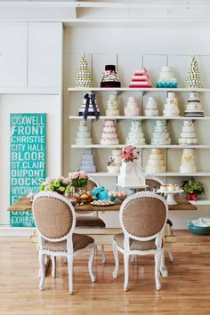 Beautiful display by Bobbette and Belle. www.bobbetteandbelle.com