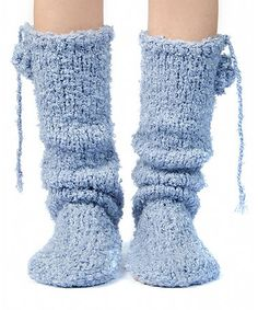 Loving this Glacier Misty Boucle Mukluk Slippers on #zulily! #zulilyfinds