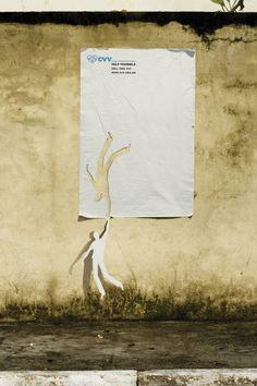 CVV (Suicide Prevention Center): Help yourself  Advertising Agency: Leo Burnett São Paulo, Brazil.