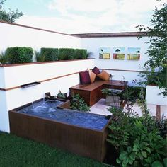 Outdoor living room garden | Garden design | Decorating ideas | housetohome.co.uk