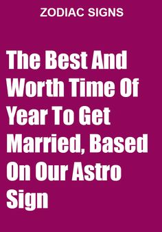 The Best And Worth Time Of Year To Get Married, Based On Our Astro Sign - Catalog Feeds #catalogfeeds #ZodiacSigns #Astrology #horoscopes #zodiaco #love #DailyHoroscope #Aries #Cancer #Libra #Taurus #Leo #Scorpio #Aquarius #Gemini #Virgo #Sagittarius #Pisces #zodiac_sign #zodiac #AriesFacts #CancerFacts #LibraFacts #AquariusFacts #GeminiFacts #VirgoFacts #SagittariusFacts #PiscesFacts #StarSigns #BirthSigns #StarSigndates #ZodiacCompatibility #ZodiacCalendar #AstrologyCompatibil Gemini Life, Aquarius Men, Gemini Man, Sagittarius Facts, Pisces Zodiac, Got Married, Getting Married, Zodiac Posts