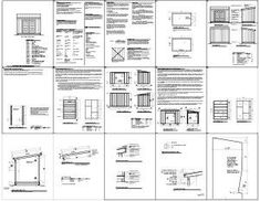 Free Shed Plans 8 X 12
