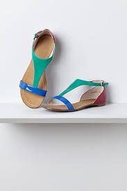 Tingo T-Straps Sandals - Anthropologie