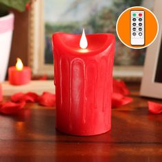 Free-Flowing 3D Fireless Candle