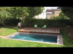 Mobile Pool Deck Terrace - YouTube