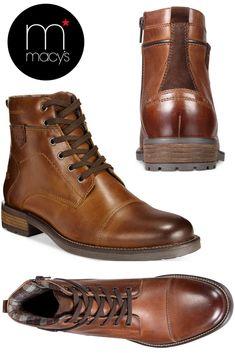 Jack Cap Toe Boots #fashion #boots #men