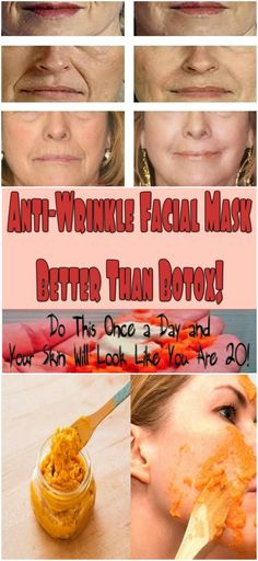 ANTI-WRINKLE FACIAL MASK BETTER THAN BOTOX! DO THIS ONCE A DAY AND YOUR SKIN WILL LOOK LIKE YOU ARE 20! - My Healthy Reason