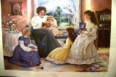 """Paula Vaughan """"Marmee's Little Women"""" s N Le 1991   eBay"""