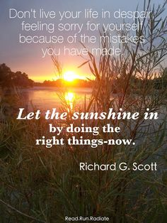 Let the sunshine in . . .