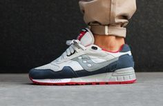 Saucony Shadow 5000 - Grey/Red