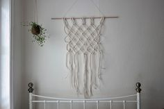 Miss Amy Phipps... Brighton UK // Craft // Vegan // Lifestyle: Craft - Macrame Rope Wallhanging DIY