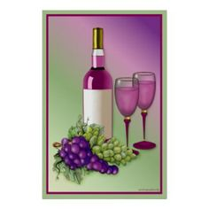 Grape Wall Decorations | Using Purple Colours In Your Kitchen