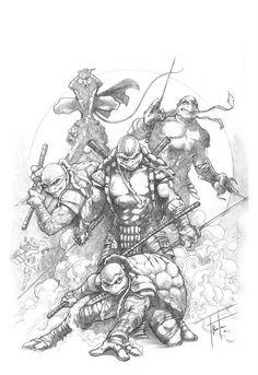 Teenage Mutant Ninja Turtles by Rod Thornton *