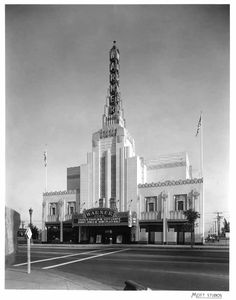 Warner's Theater, Beverly Hills, CA, 1920s. noirish Los Angeles - Page 1025 - SkyscraperPage Forum