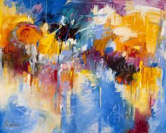 """""""Abstract 03"""" Limited Edition print on canvas by Judith Dalozzo http://ecanvasprints.com.au/product/abstract-paintings/abstract-3/"""