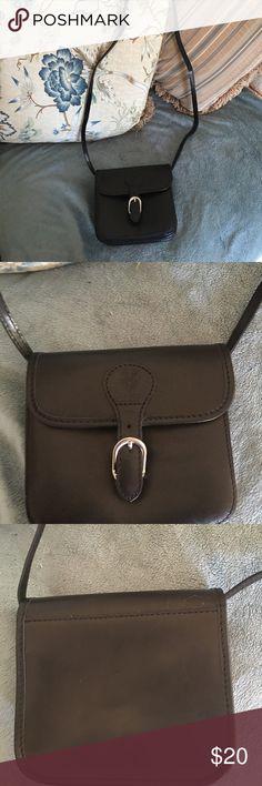 Italian leather crossbody purse Genuine Italian leather, small crossbody purse.  Would be rear for travel. Bags Crossbody Bags