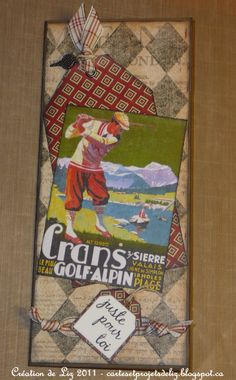 carte masculine à pochette Creations, Masculine Cards, Handkerchief Dress