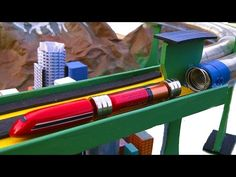 How to make smallest Electromagnetic Train in a wire coil - YouTube