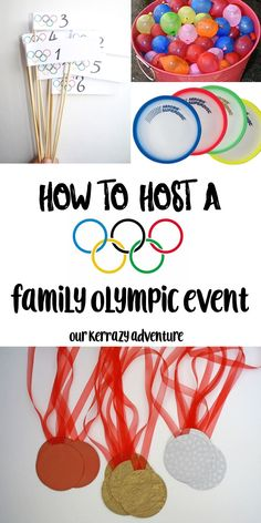 Family Olympics Event - Our Kerrazy Adventure