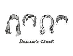 Dawson's Creek Postcard